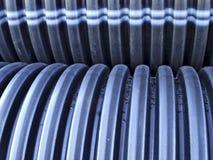 波纹状的管道 图库摄影