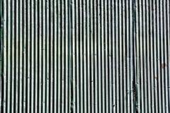 波纹状的罐子屋顶背景 免版税图库摄影