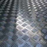 波纹状的表面金属纹理背景  免版税库存照片