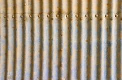 波纹状的部分隧道 库存照片