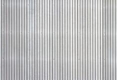 波纹状的金属房屋板壁 库存照片