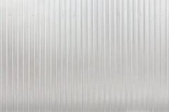 波纹状的金属板 库存照片