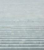 波纹状的金属模式 免版税库存图片