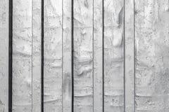 波纹状的金属片纹理 免版税图库摄影