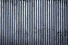波纹状的钢纹理 库存图片