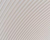 波纹状的银色屋顶金属纹理表面结构 库存图片