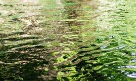 波纹水表面 免版税库存图片