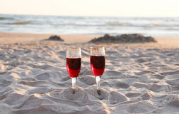 波罗的海和海滩 免版税库存照片