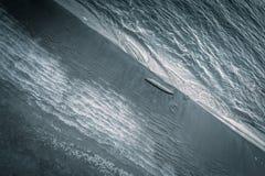 波罗的海在冬天 库存照片