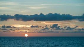 波罗的海夏天日落timelapse 股票视频