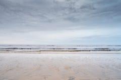 波罗的海岸在11月 拉脱维亚 库存照片