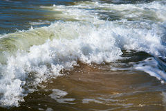 波罗的海波浪 库存图片