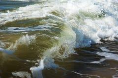 波罗的海波浪 免版税库存图片
