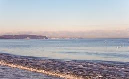 波罗的海海岸,格但斯克,波兰 库存照片