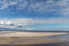波罗的海海岸 免版税库存图片