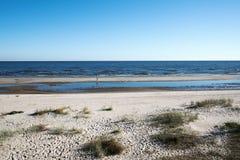 波罗的海海岸 图库摄影