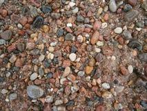波罗的海海岸` s石头 免版税库存图片