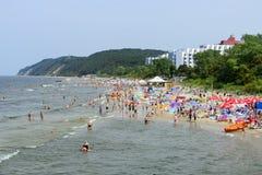 波罗的海海滩 免版税图库摄影