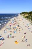 波罗的海海滩 免版税库存图片