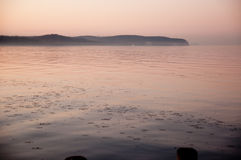 波罗的海的海岸 免版税库存照片