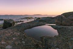 波罗的海风景 免版税库存照片