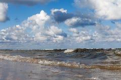 波罗的海水 库存图片