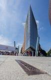 波茨坦广场柏林德国 库存照片