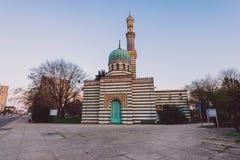 波茨坦水泵房供水系统大厦 库存图片