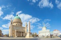 波茨坦,圣尼古拉斯教会(Nikolaikirche) 免版税库存照片