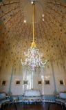 波茨坦,德国- 2016年5月08日:在新的瓷枝形吊灯 免版税图库摄影
