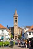 波茨坦,德国- 2017年8月15日:彼得和保罗教会在波茨坦 库存照片