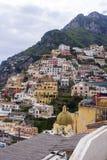 波西塔诺,意大利 免版税库存照片