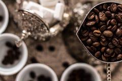 波西尼亚的咖啡 库存图片