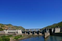 波西纽水坝 库存图片