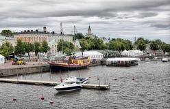 波里。芬兰 免版税库存照片