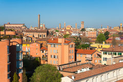 波隆纳。 意大利 免版税库存图片