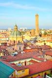 波隆纳一点红・意大利romagna视图 图库摄影