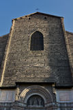 波隆纳大教堂意大利petronio圣 免版税库存图片