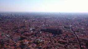 波隆纳意大利鸟瞰图 影视素材