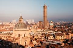 波隆纳,伊米莉亚罗马甘,意大利 都市风景 库存照片