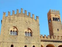 波隆纳enzo国王宫殿 免版税库存图片