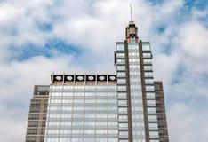 波音大厦看法在芝加哥,伊利诺伊 库存图片