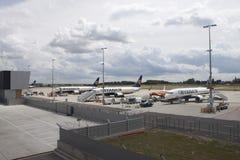 波音瑞安航空公司737  库存图片