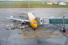 波音737-300南方航空 库存照片