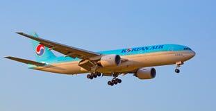 波音777汉莎航空公司 免版税库存照片