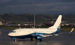 波音737飞机 免版税库存图片
