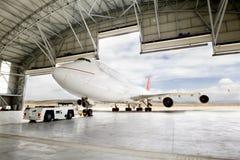 波音747 免版税库存图片