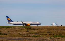 波音737-800 免版税库存图片