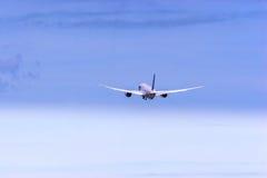 波音787 Dreamliner。 免版税库存图片