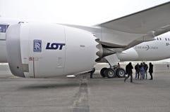 波音787 Dreamliner 库存图片